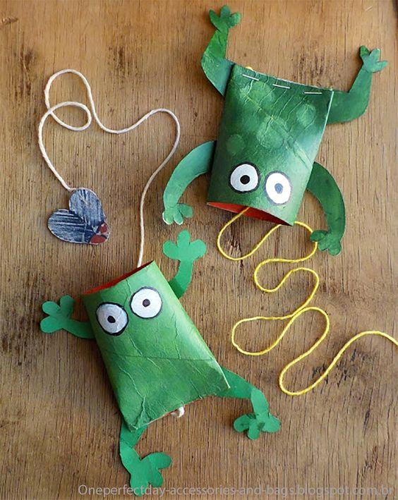 12 ideias brinquedo reciclado criancas escola faca voce mesmo em casa reciclagem 5