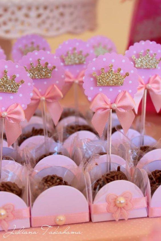 15 ideias festa infantil pricesas menina decoracao mesa doces lembrancinhas bolo aniversario 11