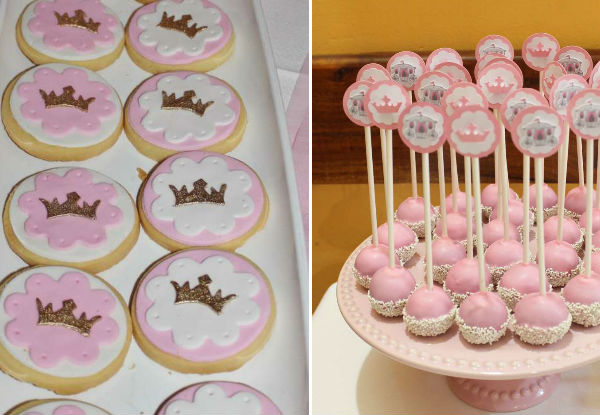 15 ideias festa infantil pricesas menina decoracao mesa doces lembrancinhas bolo aniversario 4