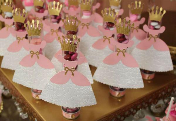 15 ideias festa infantil pricesas menina decoracao mesa doces lembrancinhas bolo aniversario 6