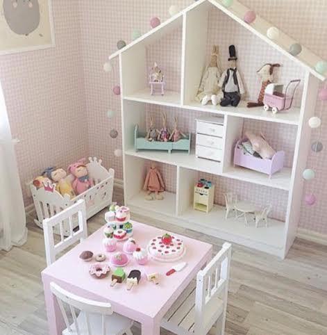 8 ideias casa de bonecas meninas decoracao quarto 1