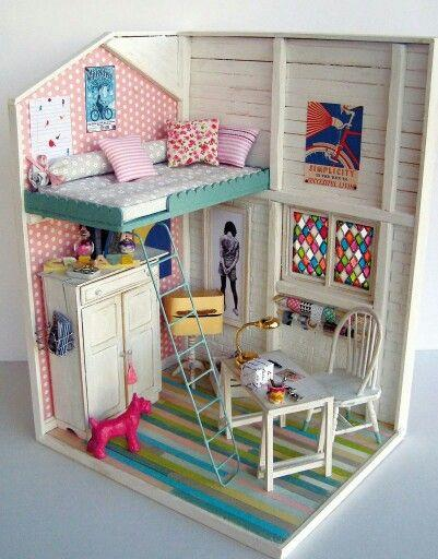 8 ideias casa de bonecas meninas decoracao quarto 3