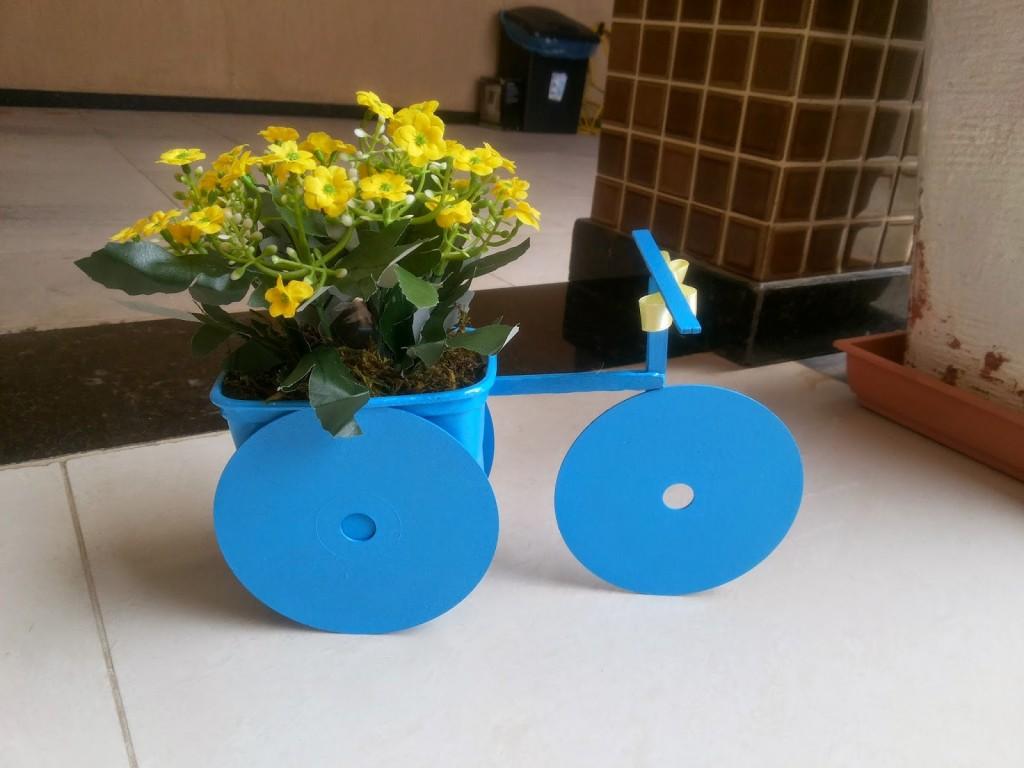8 ideias reciclagem pote margarina porta trecos brinquedo vasinho plantas 2