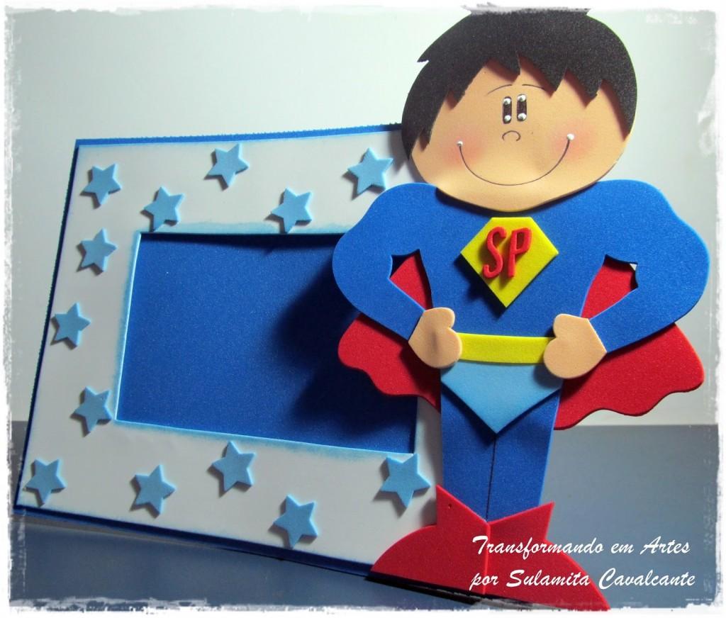 dica lembrancinha-dia-dos-pais-porta-retrato-super-homem-EVA-escola-artesanato-1