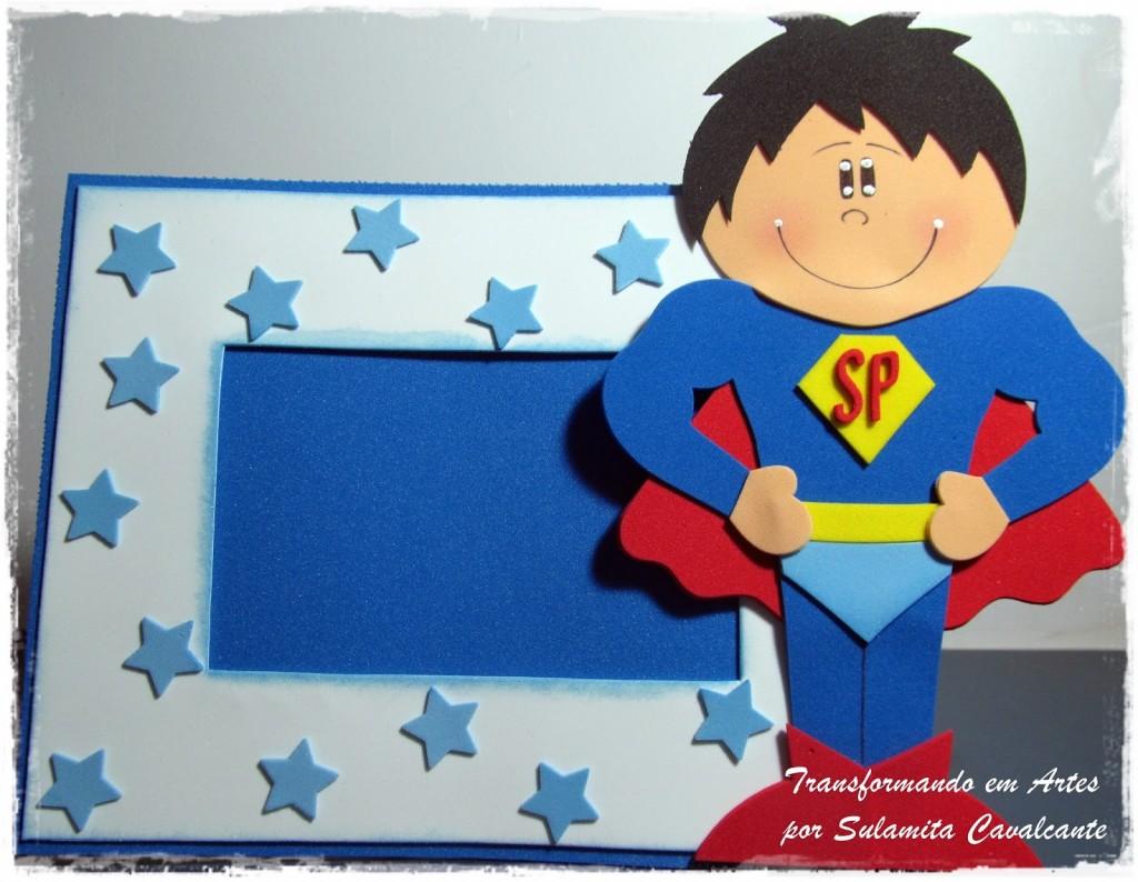 dica lembrancinha-dia-dos-pais-porta-retrato-super-homem-EVA-escola-artesanato-2