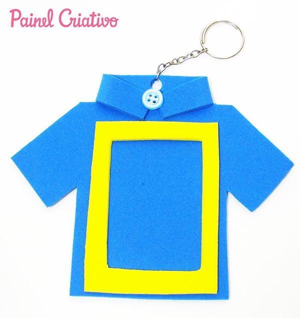 ideia lembrancinha-dia-dos-pais-chaveiro-EVA-artesanato-painel-criativo-2