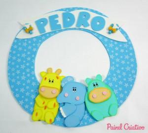 ideias enfeites porta maternidade bebe decoracao quarto 10