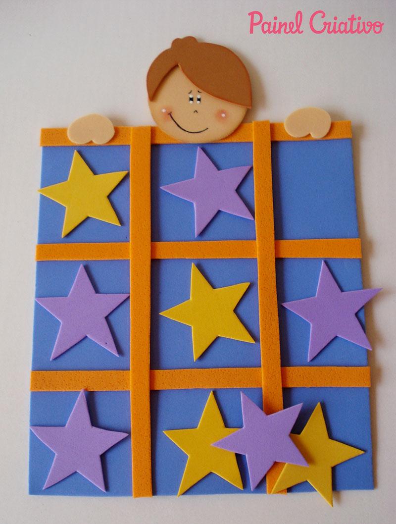 lembrancinha-dia-das-criancas-jogo-da-velha-EVA-menininho-menininha-brincadeira-escola-artesanato-painel-criativo-3 (1)