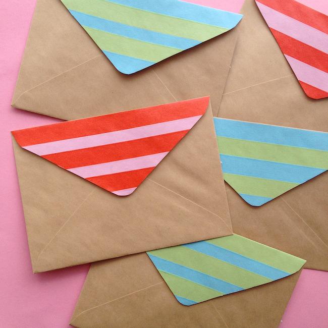 12 ideias criativas decorar objetos fitas washi tape artesanato decoracao casa 6
